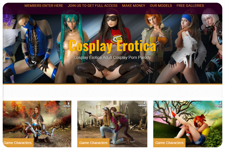 cosplayerotica cosplay porn site review