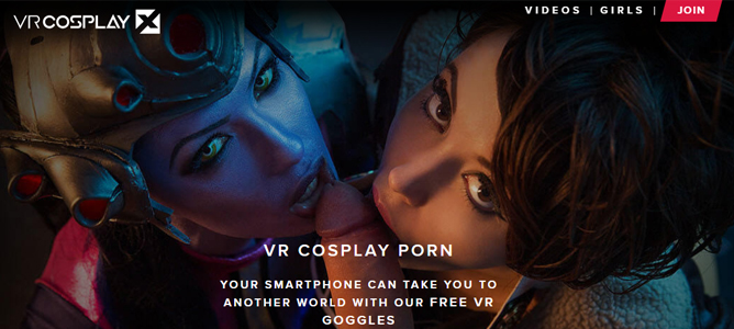 Top rated cosplay porn site for VR sex scenes