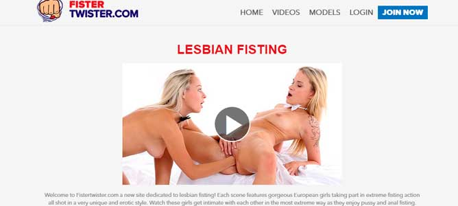 Top hd adult website full of lesbian fist porn action
