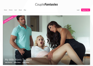 Best pay adult site for erotic videos for couples.