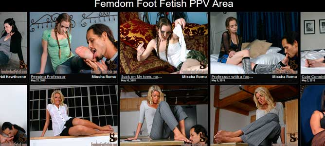 Nice paid porn website if you like female domination foot adult videos