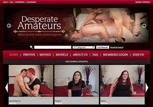 Nice paid porn site with amateur content.