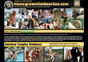Top rated pay porn site for outdoor sex scenes.